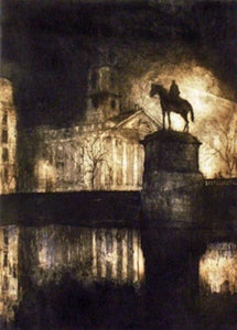 "Image of ""Nocturne"", Trafalgar Square, London"