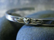 """Image of """"I am Blessed to have a Friend like You"""" sterling cuff bracelet"""