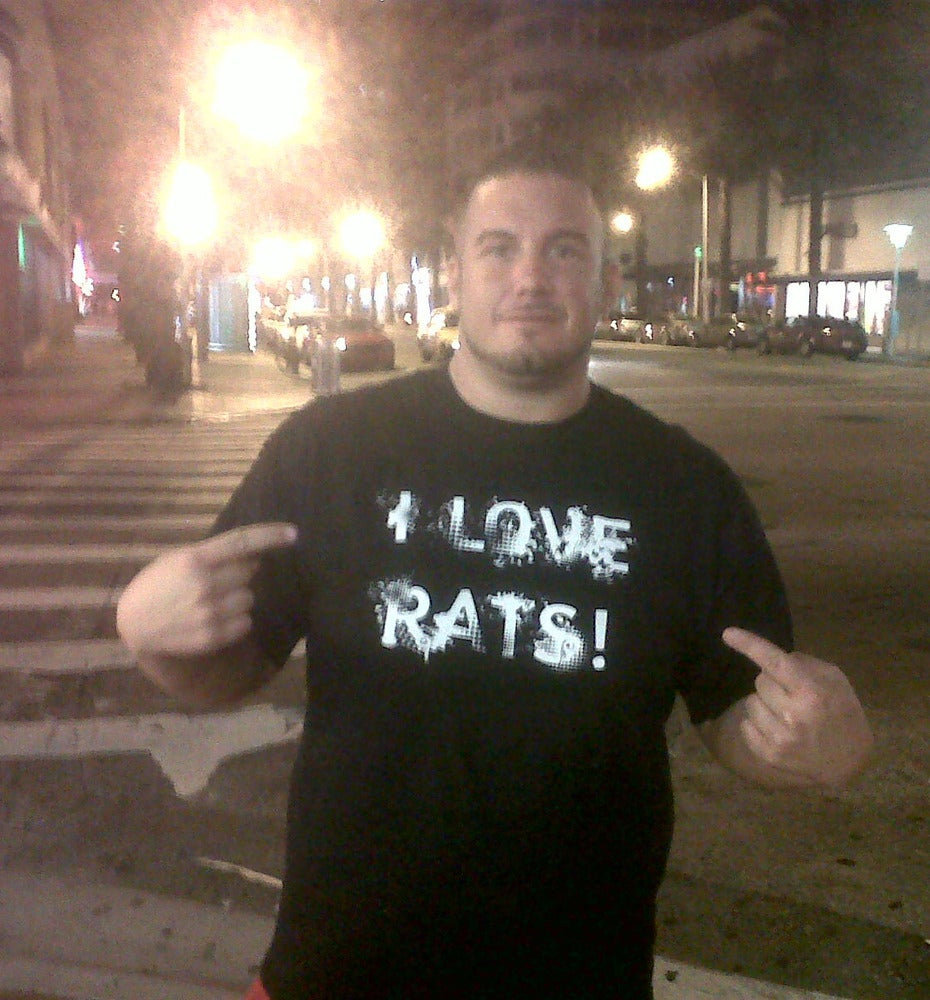 Image of I LOVE RATS