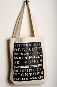 Image of Philly Neighborhood tote