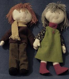 Image of Personalised 'Rag' Doll