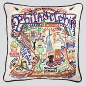Image of Philadelphia pillow