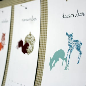 Image of 2012 Printable Nature Calendar