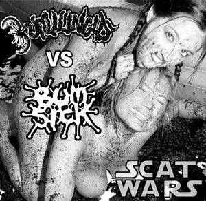 Image of BUMILINGUS/BUMSICK SCATWARS SPLIT CDR