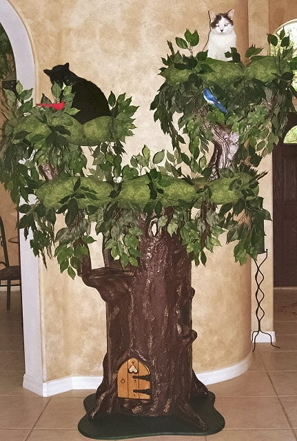 Cat Trees for Large Cats  A Fantasy Forest