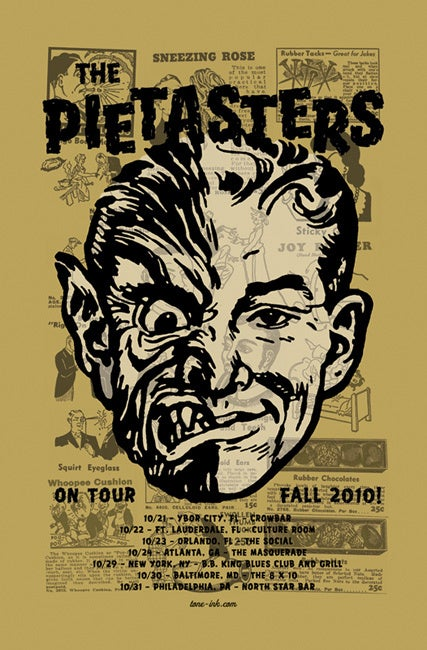 Image of The Pietasters - Fall Tour '10