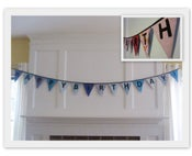 Image of Pennant Reversible Birthday Banner