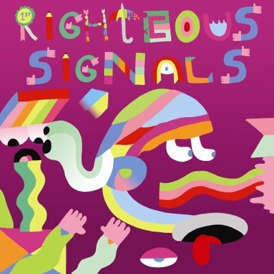 Image of Gay Against You 'Righteous Signals, Sour Dudes' LP