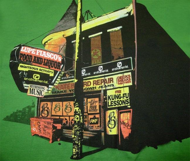 Image of FOOD & LIQUOR - Enstrumental + 1st & 15th + FTK - Limited Edition