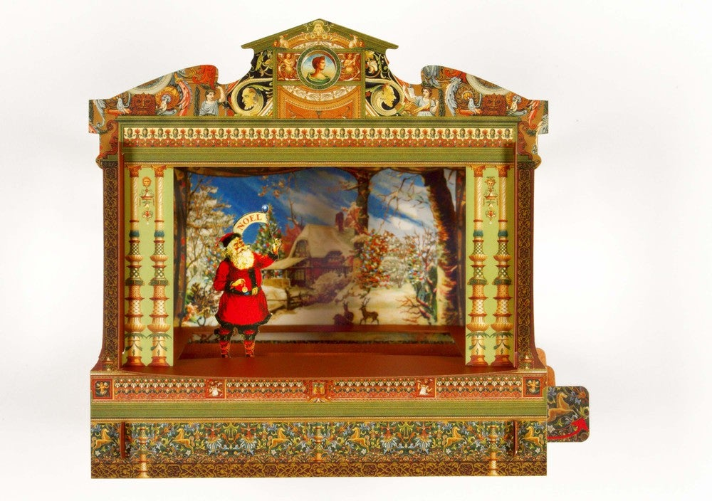 Santa Pop Up Theatre Leafpdx
