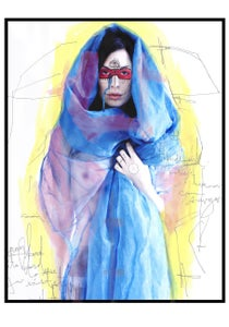 """Image of edition of 50 """"Child of my Moon"""" print"""