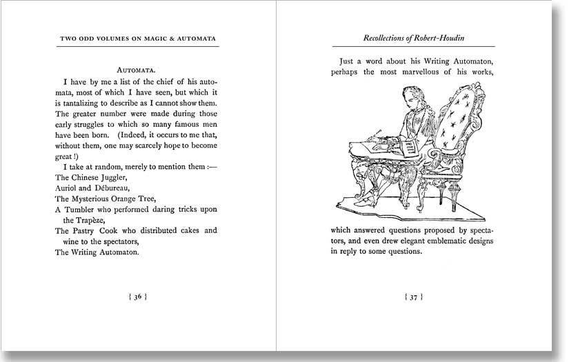 Image of Two Odd Volumes on Magic & Automata