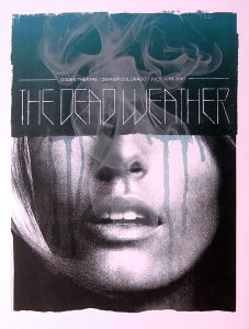 Image of The Dead Weather poster Ogden Theatre 2010