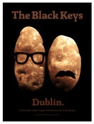 Image of The Black Keys poster Dublin 2010