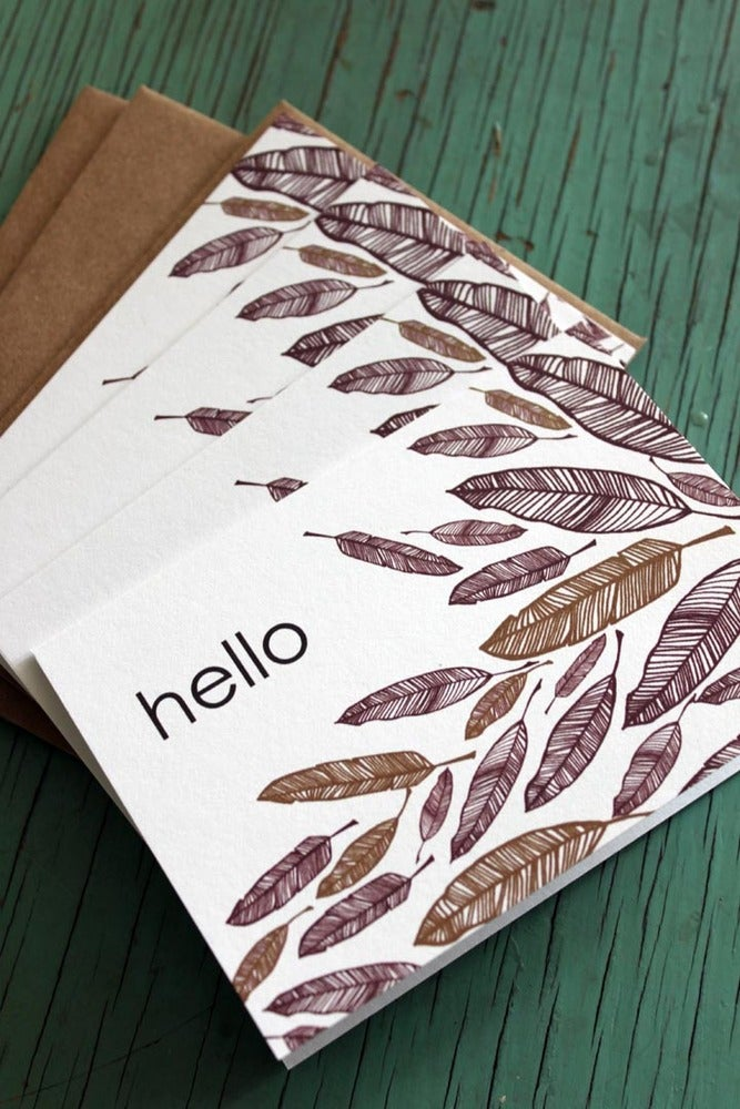 Image of hello feathers/4