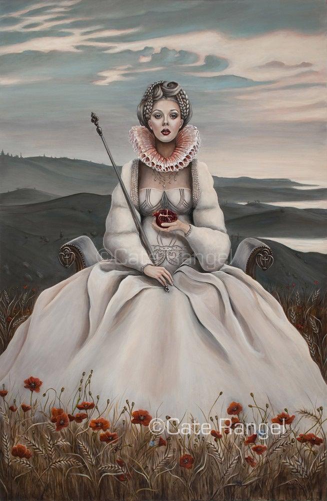 "Image of ""The Empress""/Original Painting/24x36"