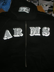 Image of The Lawrence Arms Zip Up HOODIE 10 yr Anniversary