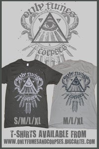 Image of Eye/Snake/Knives T-shirt