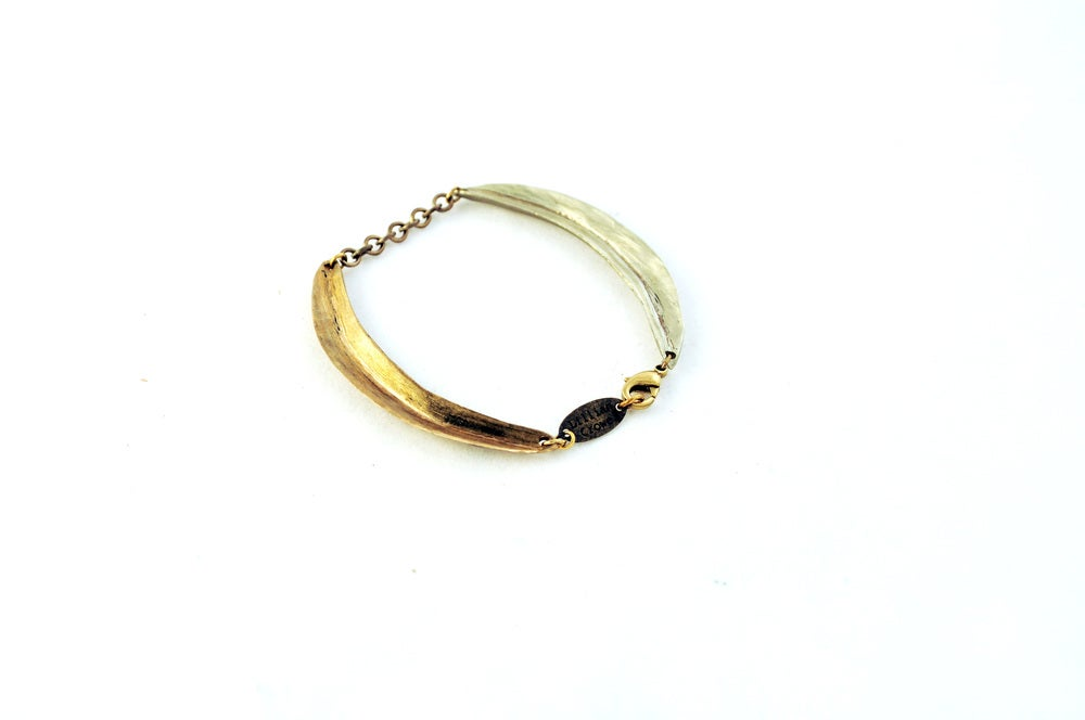 Image of Double Arc Bracelet