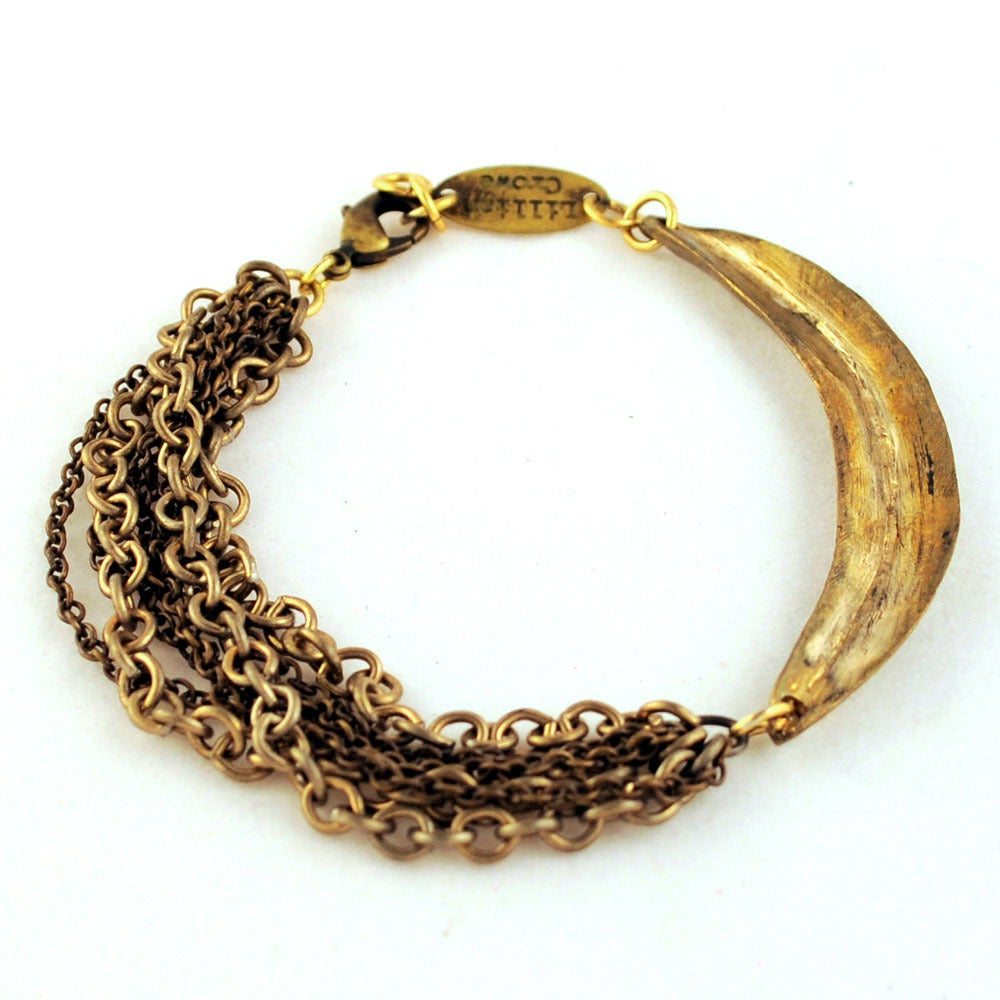 Image of Arc and Chain Bracelet