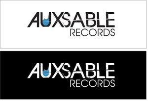 Image of Aux Sable Records Sticker 2-pack