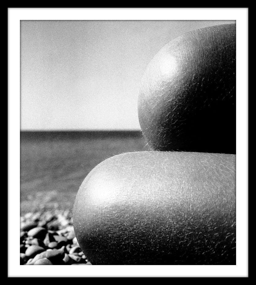 Image of Nude, Baie des Anges France 1959, October PP26