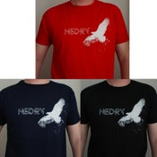 Image of Nedry 'Condor' T-Shirt (BLACK, NAVY BLUE or RED) SOLD OUT