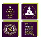 Image of YogaBe 'Karma Collection' Greetings Card Pack