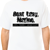 "Image of ""Rest Easy, Marine"" Tee"