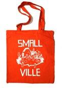 Image of Smallville Bag- Logo Print- Red