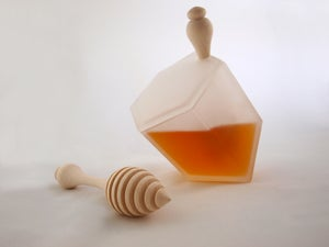 Image of Hive Honey Set - Frosted Glass