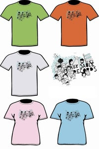 Image of Aux Sable Records Limited Edition T-Shirt