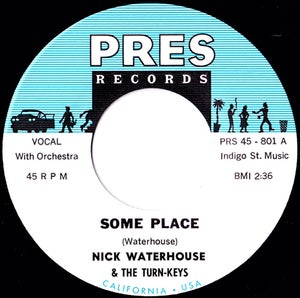 """Image of Nick Waterhouse - """"Some Place"""""""