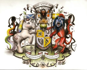 Image of Kirsty Whiten- Coat of Arms- Limited Edition Giclee Print