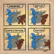 Image of COMIC STRIP: Limited Edition Giclée Print, Signed/Numbered