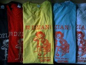 "Image of Dzian! ""Mama Give Me a Guitar"" T-shirt"