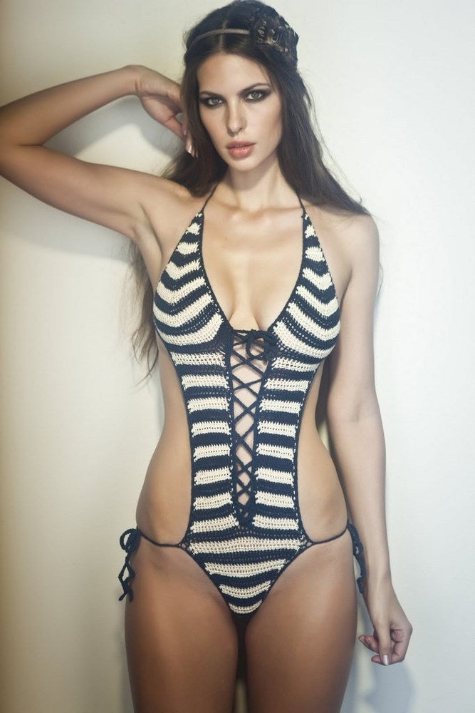 Image of Laceup onepiece