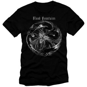 """Image of Blood Fountains - """"Birds"""" T-Shirt"""
