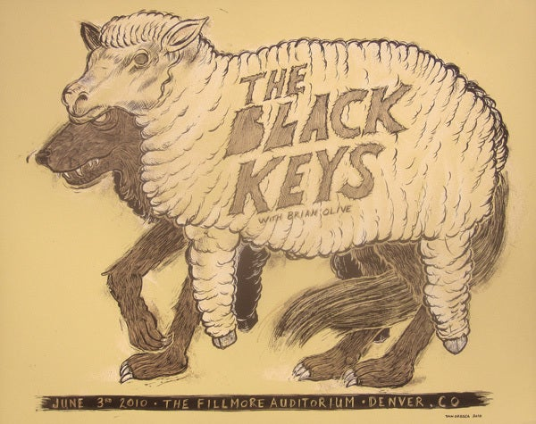 Image of The Black Keys Fillmore CO 2010