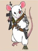 Image of Cyborg Mice Art Print