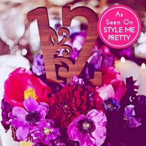 Image of Flourish Luxecut™ Table Numbers (Set of 12)