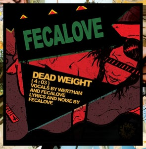"Image of B!148 Fecalove ""Dead Weight"" 7-inch"