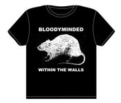 "Image of BLOODYMINDED ""Within The Walls"" (rat) T-shirt"
