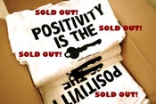 """Image of """"Positivity Is The Key"""" White Tee"""