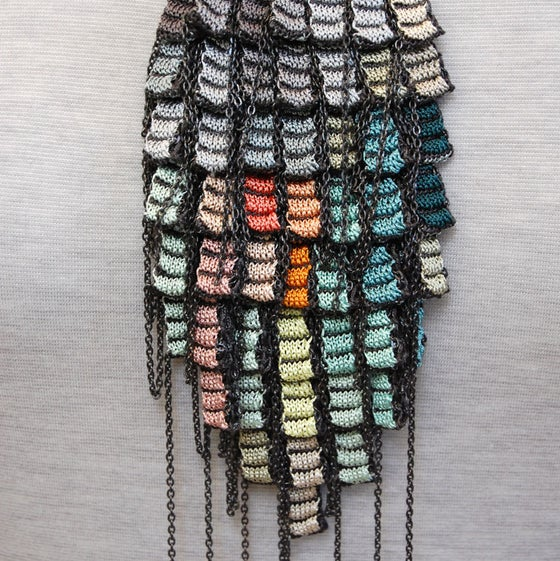 Image of Pixels Chain Necklace