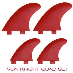 Image of Von Knight Quad Set (set of 4 single fins)