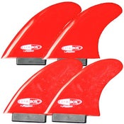Image of LOKBOX Von Knight Quads (set of 4 fins)