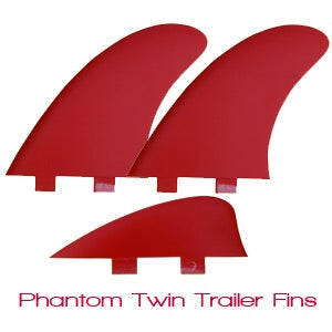 Image of Von Sol Phantom Twin Fins and Keel (set of 3 fins)