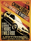 Image of Orangeball Movie Poster