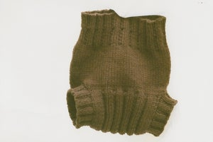 Image of chocolate :: wool cover